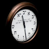 Synagogue clock